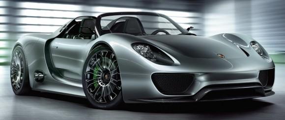 Porsche 918 Spyder Hybrid Wallpaper. The Porsche 918 Spyder Hybrid.